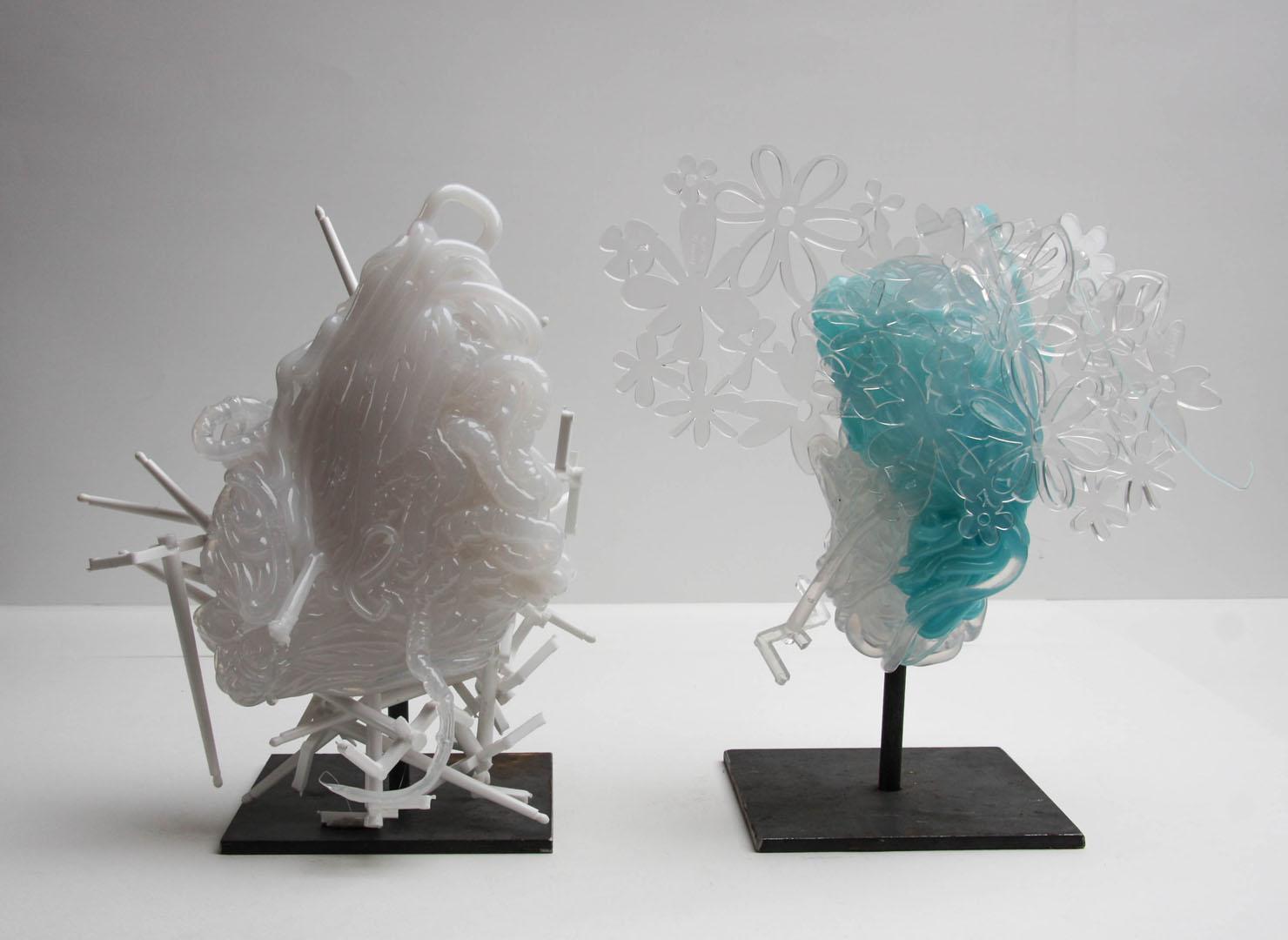 Katharina Hoehler Künstlerin Emmendingen Objekt Acrylglas Skulpturen