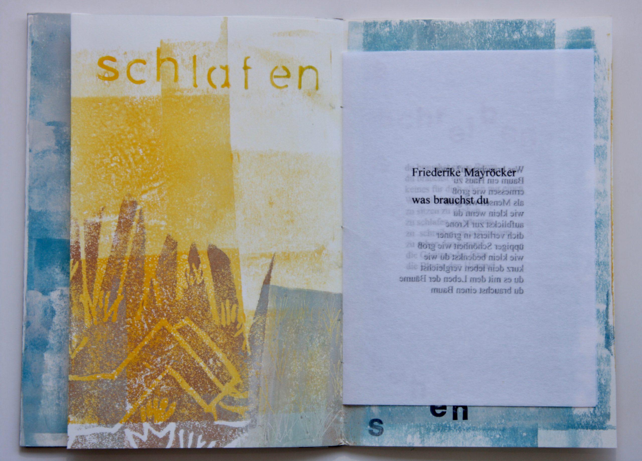 Künstlerbuch Katharina Hoehler Emmendingen
