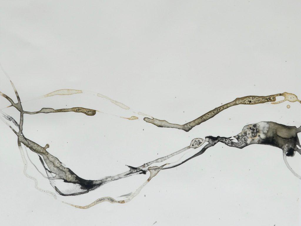 o.T. 2 - Katharina Hoehler Mischtechnik auf Steinpapier