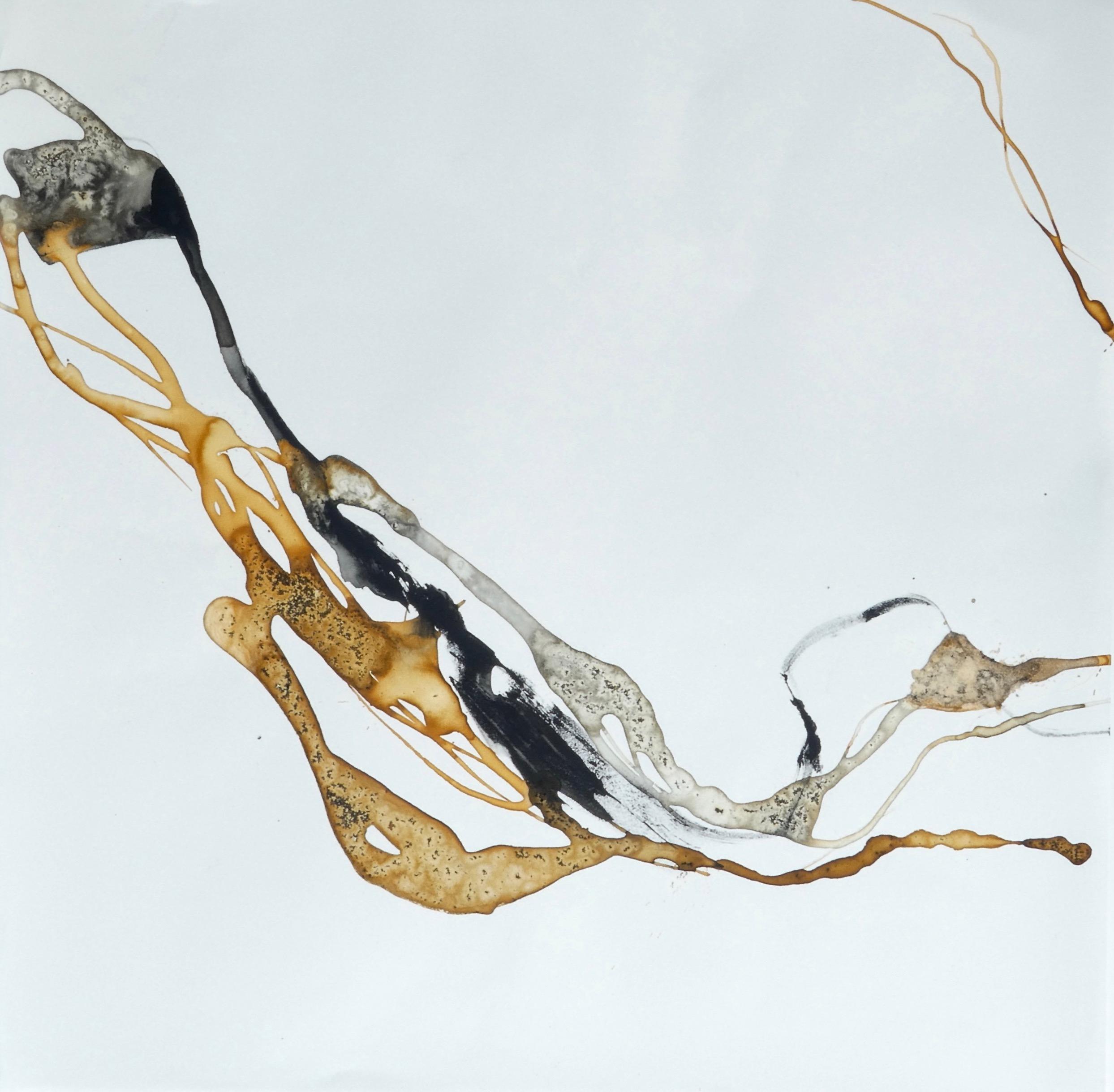 o.T. 4 - Katharina Hoehler - Mischtechnik auf Steinpapier